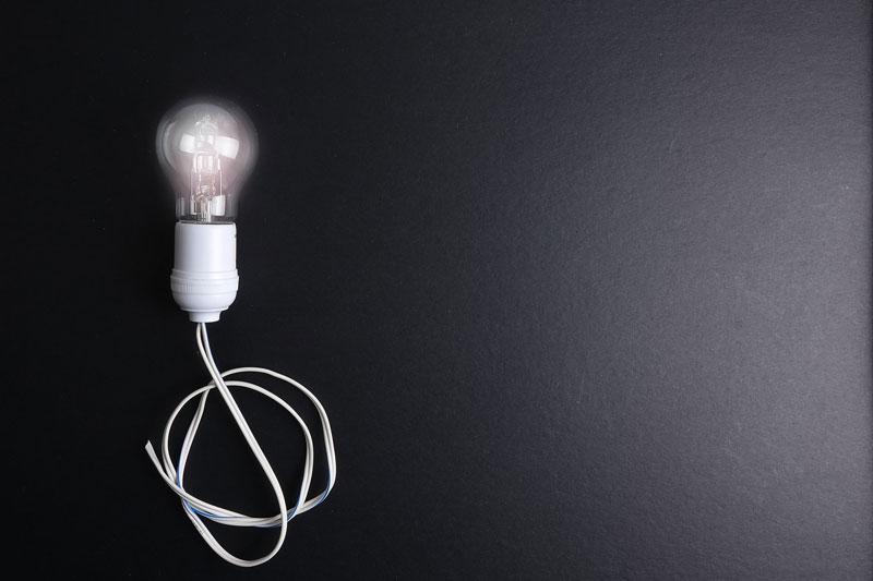 bulb-on-black